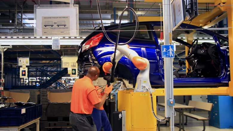 More than 100 years after the first cars rolled off Henry Ford's pioneering assembly line, Ford Motor Company is breaking new ground in the way workers and ...