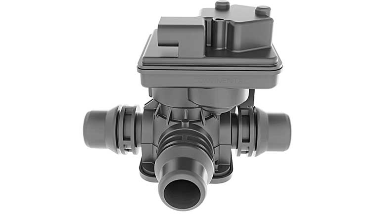 New are the Coolant Flow Control Valves (CFCV) that serve to flexibly switch heating and coolant circuits