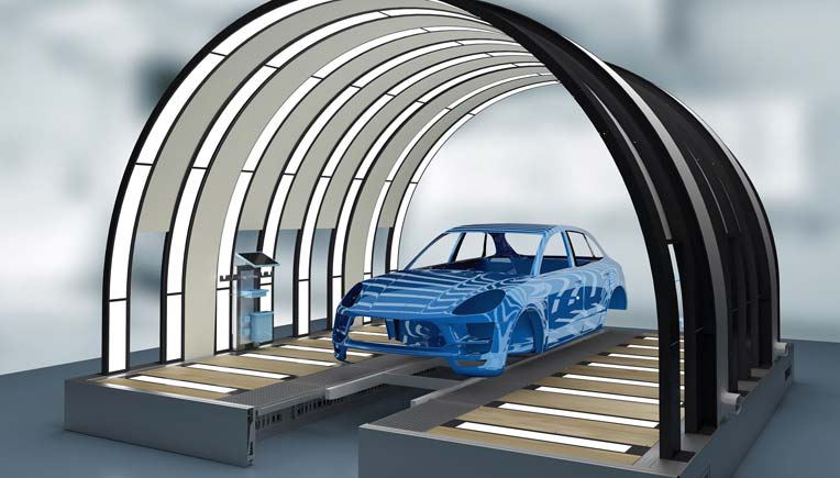 Amg Auto Sales >> Durr's EcoReflect, an innovative light tunnel to check paint finish
