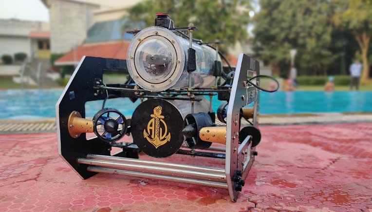 Mahindra Ecole Centrale develops Autonomous Underwater Vehicle