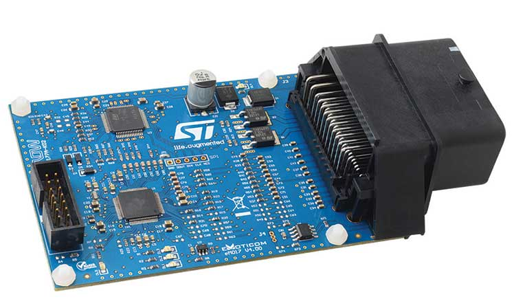 STMicroelectronics, Arrow Electronics release complete reference design ECU for EFI