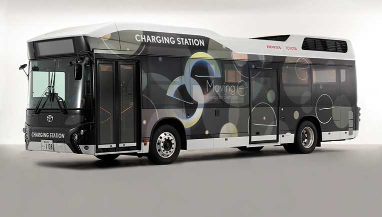 Toyota, Honda to test mobile power generation / output system