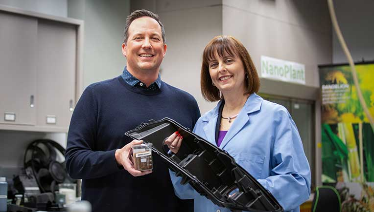 Varroc Lighting Systems, Ford, McDonald's convert coffee bean skin into car parts