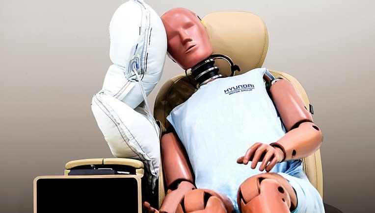 Hyundai Motor Group develops centre side airbag