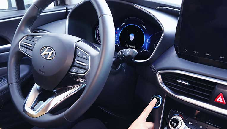 Hyundai Motor reveals world's first smart fingerprint technology
