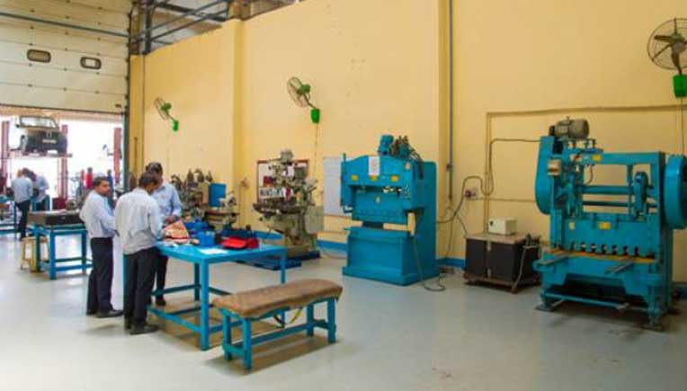 Automotive electricals and electronics lab at ICAT