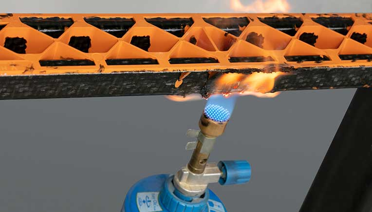 Lanxess offers new flame-retardant thermoplastic composite materials