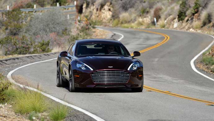 Aston Rapide S. Picture for representation purpose only