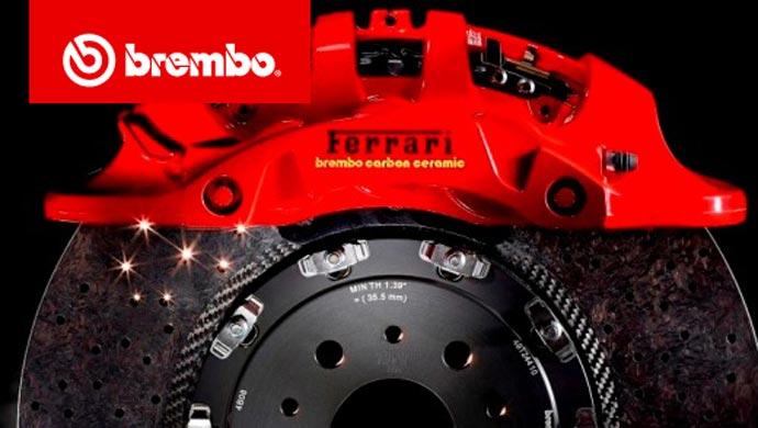 Brembo brakes for Ferrari 488 GTB