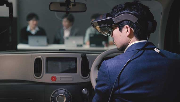 Nissan to unveil Invisible-to-Visible technology concept at CES, Las Vegas
