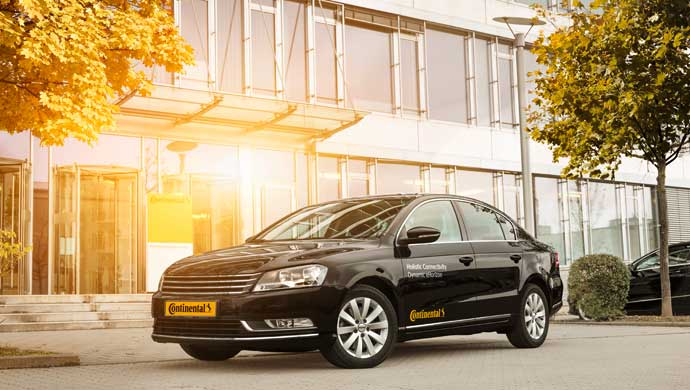 Continental tests the dynamic electronic Horizon (eHorizon) on the road for the first time