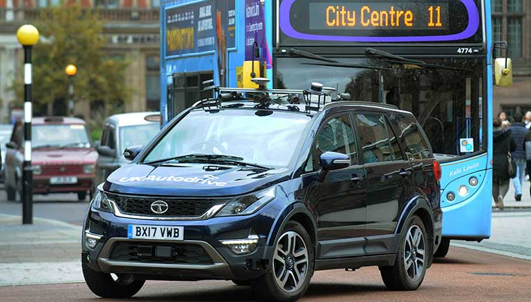 Tata Motors European Technical Centre demonstrates latest mobility technology