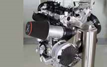 A 2.0L Volvo engine with 450bhp