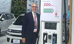 ABB showcases the Terra HP fast-charging system