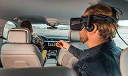 Audi turns car into a virtual reality experience platform at CES