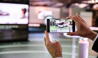 BMW i pilots augmented reality product visualiser powered by Tango