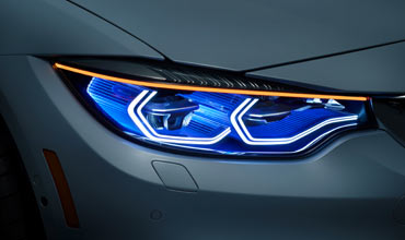BMW unveils latest Laserlight at CES 2015