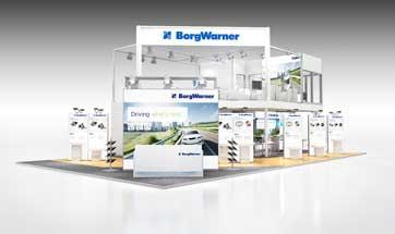 BorgWarner showcases large electrification portfolio at Auto Shanghai 2017
