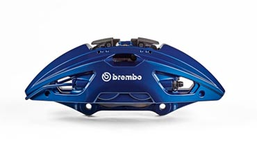 Brembo presents a new family of calipers for high-end cars