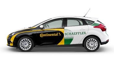 Closely Integrated Module for 48 V Hybrid Systems from Continental, Schaeffler