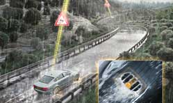 Continental technology for early risk detection of aquaplaning situations