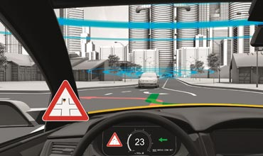 Continental's Vehicle-to-X technology can save lives