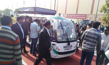 Driverless shuttle hogs limelight at Auto Expo 2016