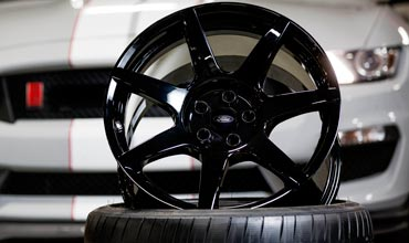 Ford reinvents the wheel with carbon fibre for mass production