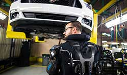 Ford rolls out exoskeleton wearable technology globally
