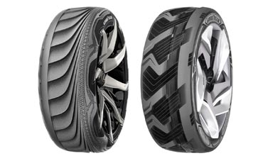 Goodyear concept tyres unveiled at Geneva Motor Show
