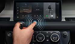 JLR develops  contactless touchscreen to help fight bacteria and viruses
