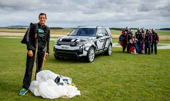 Land Rover completes unique remote demonstration of the all-new Discovery