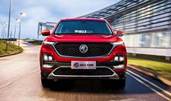 MG Motor India unveils internet car technology for MG Hector