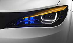 Magneti Marelli exhibits highly integrated lighting, electronics solutions