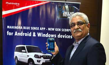 Mahindra launches BLUE SENSE app for iOS for XUV customers