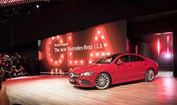 Mercedes-Benz showcases new technologies