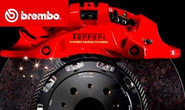 New Brembo braking system for Ferrari 488 GTB