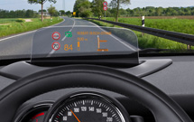 New Combiner head-up display from Bosch.