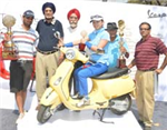 Piaggio Vespa unites Pune city in a game of golf