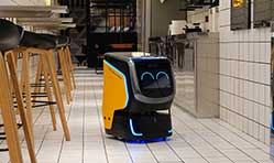 PuduTech debuts Holabot delivery robot at CES 2019