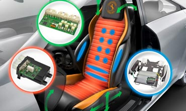 Seating technology from Continental ensures immense comfort