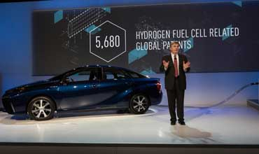 Toyota opens the door to hydrogen future