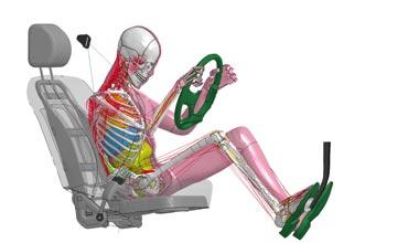 Toyota's virtual crash test dummies replicate human reactions