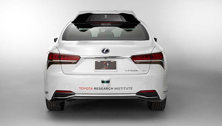 Toyota Research Institute rolls out P4 Automated Driving Test Vehicle at CES