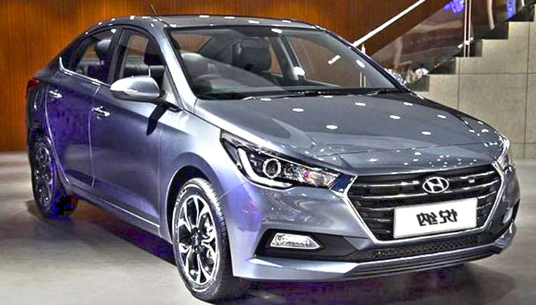5th Generation 2017 Hyundai Verna Unveiled India Entry Soon