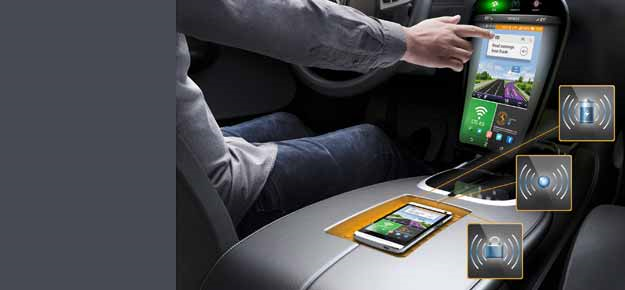 Continental unveils smartphone integration in cars