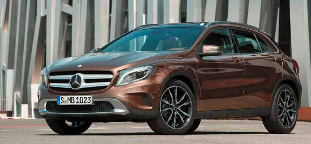 Mercedes-Benz GLA-Class debuts at Rs 32.75 lakh