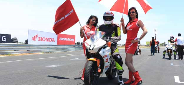 Deepak, Naresh win Honda bike race at Kari