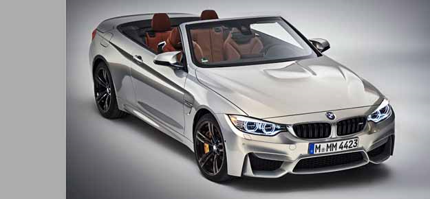 Topless beauty by the name of BMW M4