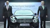 Mercedes-Benz new E 350 CDI for Rs 57.42 lakh